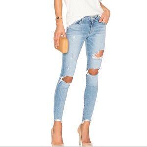 Lovers + Friends distressed denim jeans